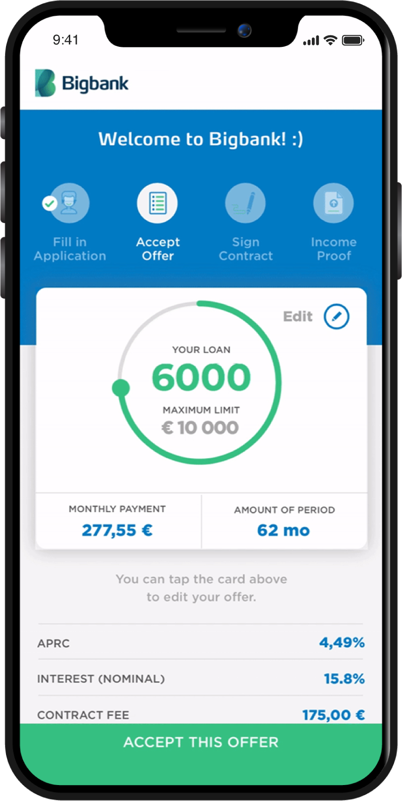 Bigbank App